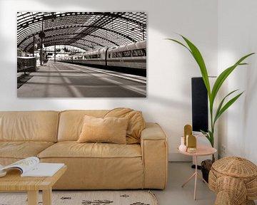 Bahnsteig - Hauptbahnhof - Berlin sur Silva Wischeropp