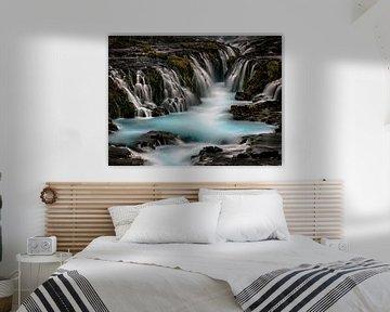 Bleu lagoon van Alexander Koenders