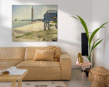 Der Leuchtturm bei Honfleur, Seurat