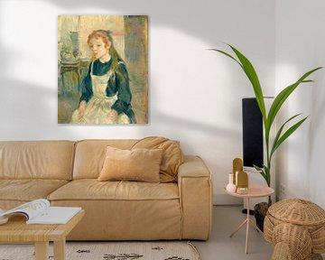 Junges Mädchen mit einer Schürze, Berthe Morisot