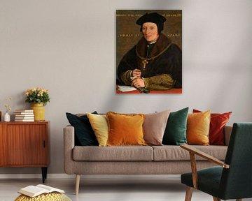 Sir Brian Tuke, nach Hans Holbein dem Jüngeren