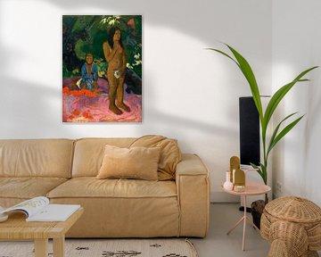 Parau na te Varua ino (Worte des Teufels), Gauguin