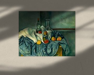 Peppermint Flasche, Cézanne