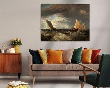 der Kreuzung von der Themse und der Medway, Joseph Mallord William Turner