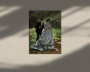 Bazille und Camille, Claude Monet