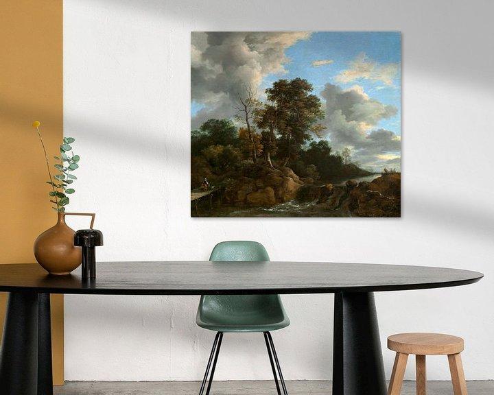 Sfeerimpressie: Landschap, Jacob van Ruisdael (gezien bij vtwonen)