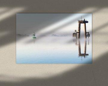 Misty shipyard van Kris Christiaens