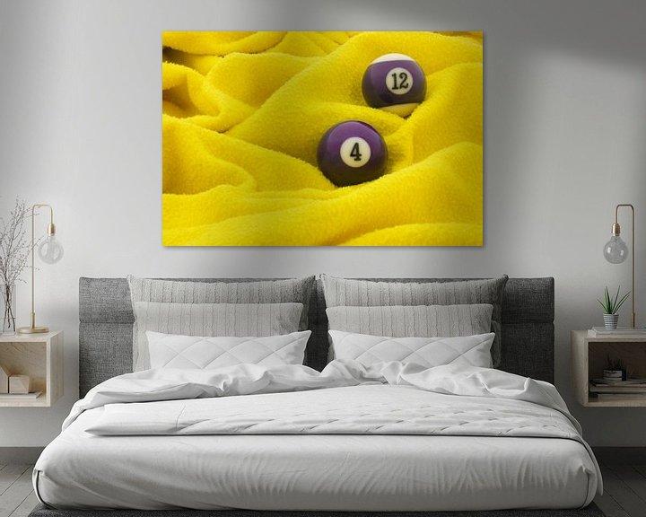 Sfeerimpressie: Paars op geel van Bas Smit