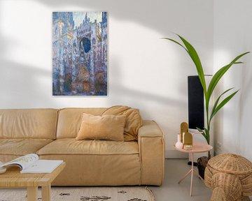 de kathedraal van Rouen, West Façade, Claude Monet