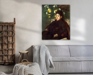 Mademoiselle Malo, Edgar Degas