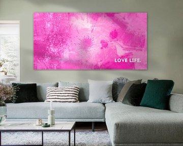 Emotional Art - Love Life van Melanie Viola