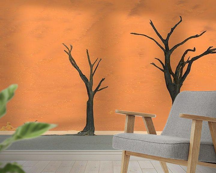 Beispiel fototapete: die drei Bäume von Aline van Weert