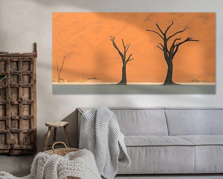 Beispiel: die drei Bäume von Aline van Weert