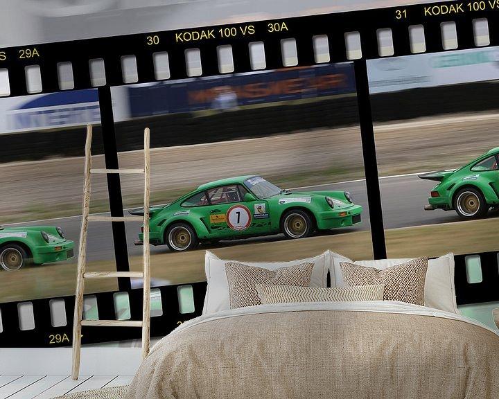Beispiel fototapete: Porsche paddock Zandvoort von 2BHAPPY4EVER.com photography & digital art
