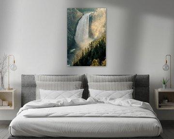 Lower Yellowstone Falls van Stefan Verheij