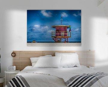Art Deco Lifeguard von Aiji Kley