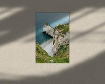 De kliffen van Normandië  von Wim Slootweg