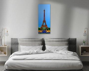 Eiffeltoren artist impression sur Sean Vos