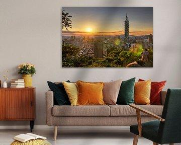 Taipei Tower 101 von Sven Wildschut