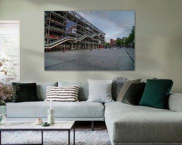 Centre Pompidou en het Place Georges Pompidou sur Sean Vos