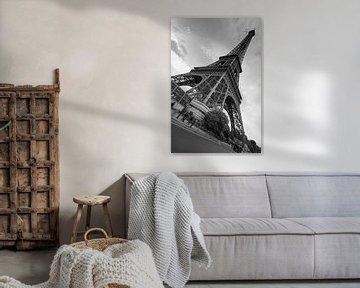 De Eiffeltoren in groothoek sur Sean Vos
