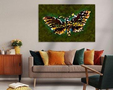 Mosaik-Schmetterling  von Jolanta Mayerberg