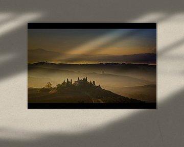 Belvedere in the Mist von Manuel Meewezen
