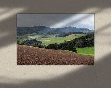 Diemelsee bergen, Duitsland van Jaap Mulder