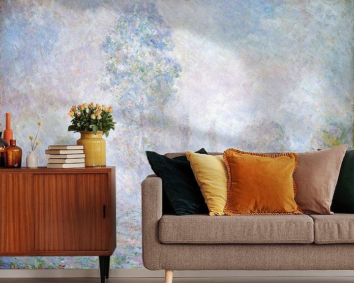 Beispiel fototapete: Morgendunst, Claude Monet