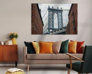 Manhattan Bridge 01 van Peter Bongers