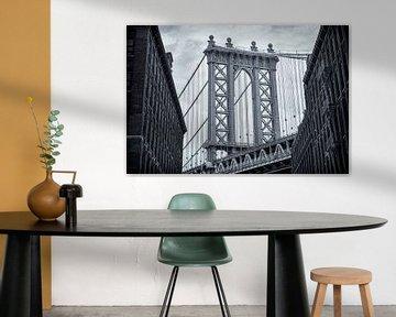 Manhattan Brücke 02 von Peter Bongers