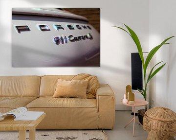 Glanzende Porsche 911 Carrera S von 2BHAPPY4EVER.com photography & digital art