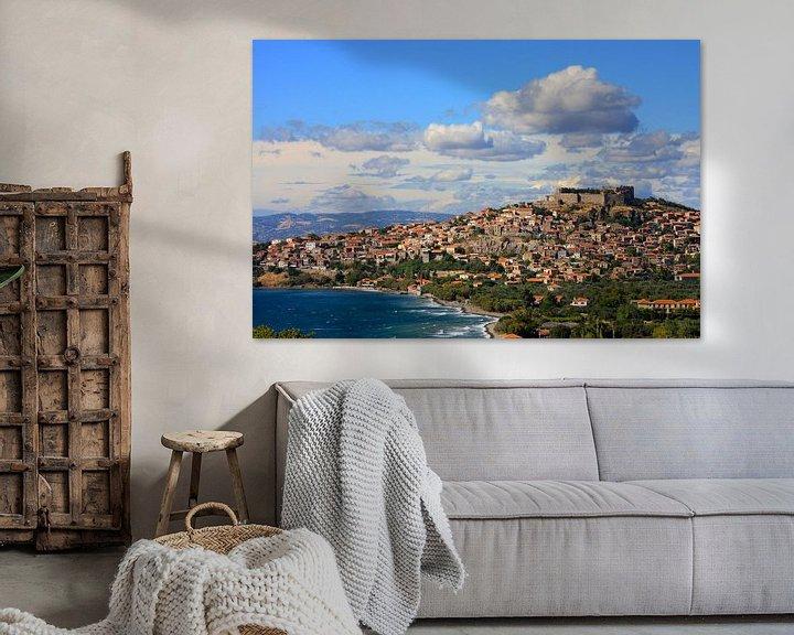 Sfeerimpressie: Molyvos Lesbos Greece ( Mythimna) van Loraine van der Sande