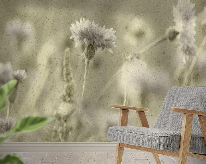 Sfeerimpressie behang: GRAIN van Ans de Bie