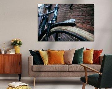 Vintage fiets van Pieter Wolthoorn