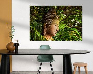 Boeddha in Cambodja van Giovanni della Primavera