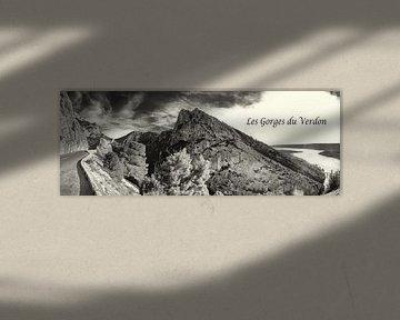 Panorama van de Gorges du Verdon