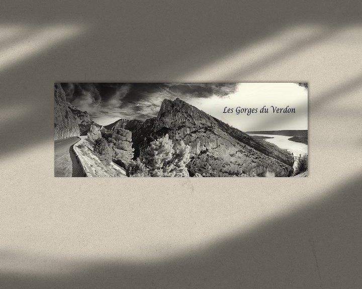 Impression: Panorama van de Gorges du Verdon sur Tammo Strijker
