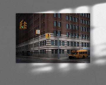 Amerikaans straatbeeld van Arthur van Iterson