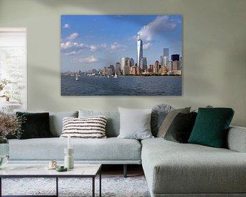 Manhattan vanaf het water van Teuni's Dreams of Reality