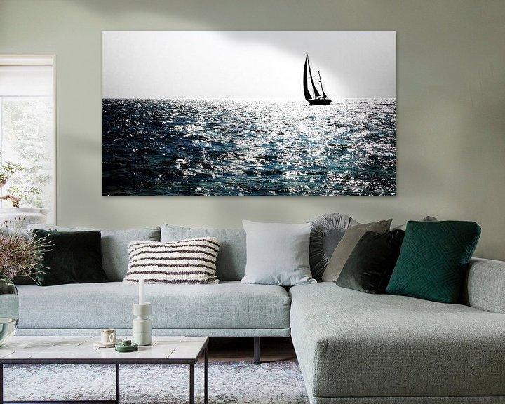 Sfeerimpressie: Zon op het water van Jan van der Knaap