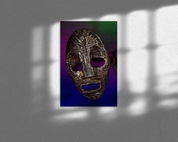 Silber-Maske  von Jolanta Mayerberg