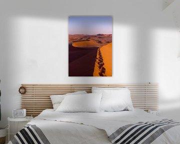 Zonsopkomst, Sossusvlei, Namibië von Christel Nouwens- Lambers