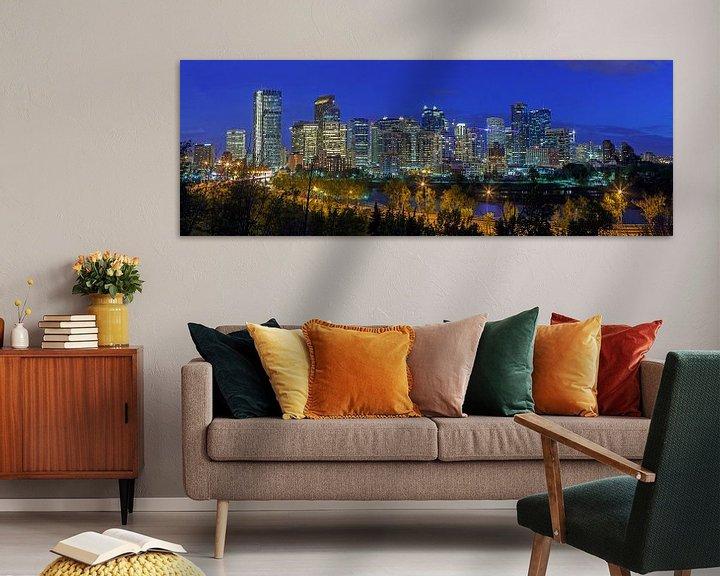 Impression: Calgary Skyline bei Nach sur Menno Schaefer