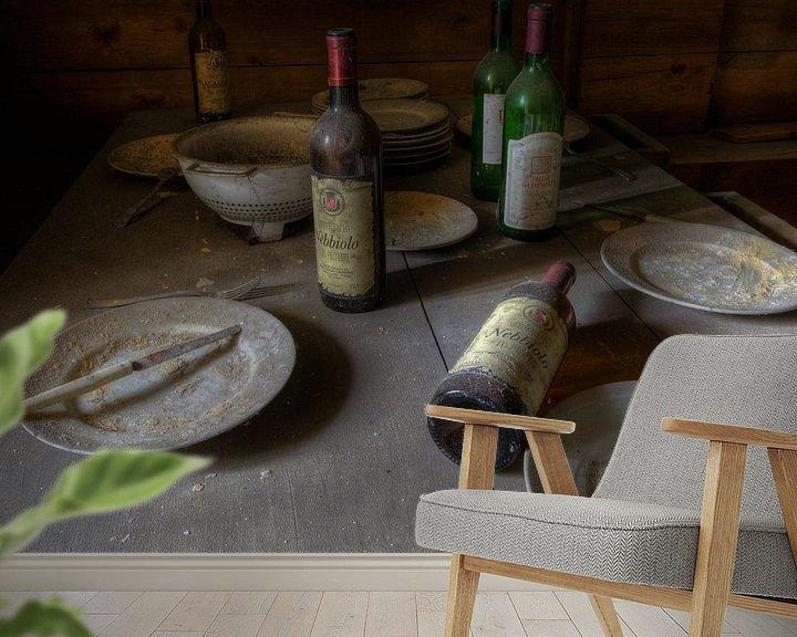 Beispiel fototapete: Ein gutes Abendessen von Perry Wiertz
