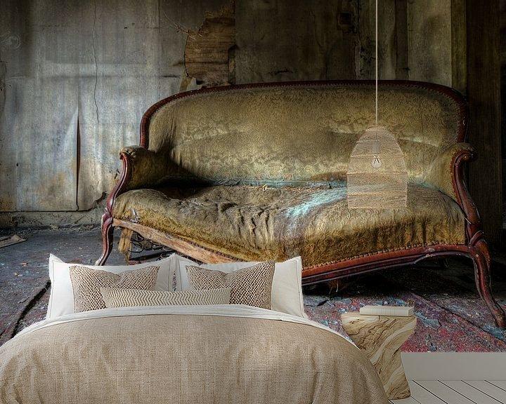 Beispiel fototapete: Sofa mit einer Geschichte von Perry Wiertz