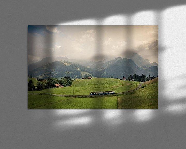 Sfeerimpressie: Rail Away van Jesse Kraal