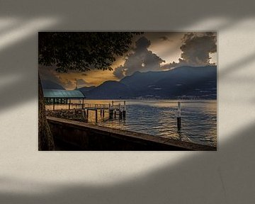 Bellano Sunset von juvani photo