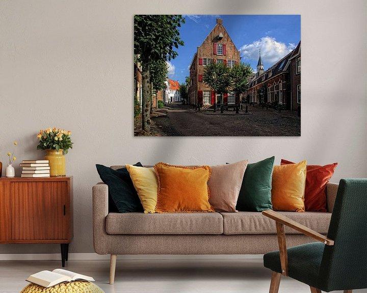 Sfeerimpressie: Breestraat historisch Amersfoort van Watze D. de Haan