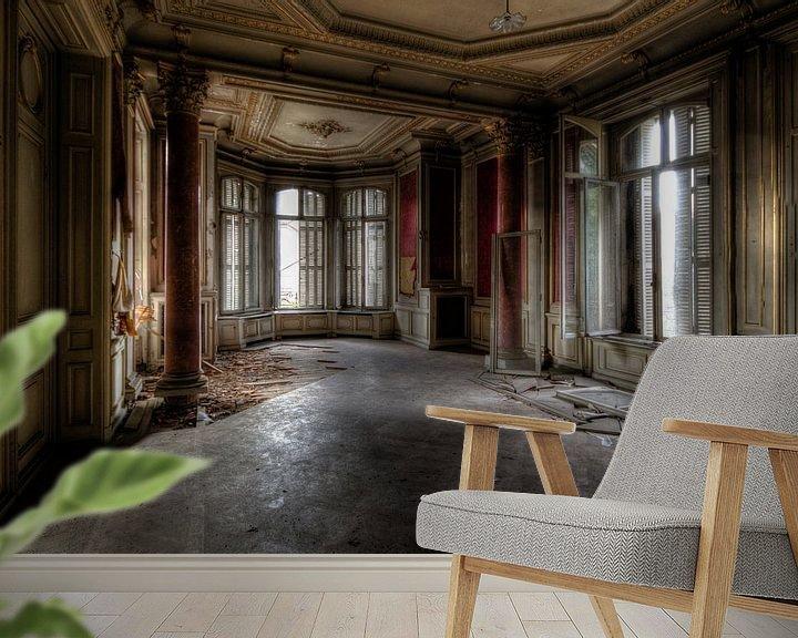 Sfeerimpressie behang: Decadente Eetkamer van Perry Wiertz